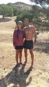 Alejandra's first trail race!