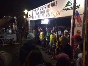 Start of the 2015 Western States